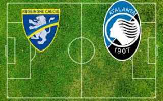 Serie A: frosinone atalanta video gol calcio