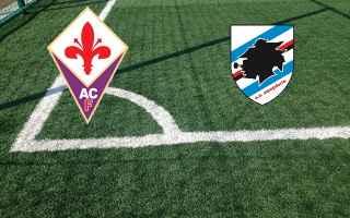 fiorentina sampdoria video calcio gol