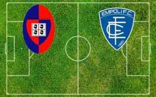 Serie A: cagliari empoli video calcio gol