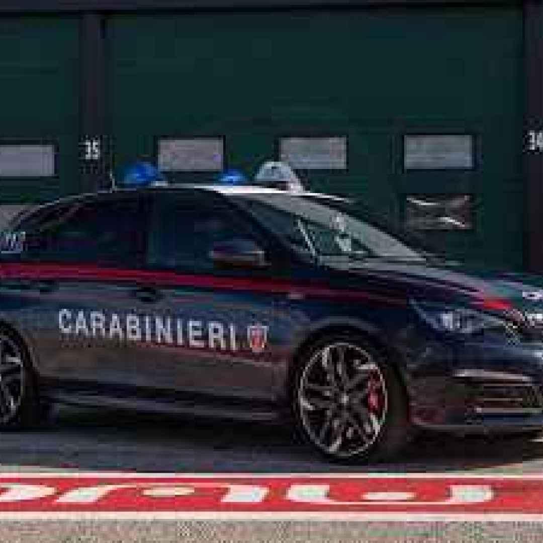 scuola guida.video carabinieri auto