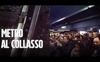 Roma: metro roma video dipendenti atac