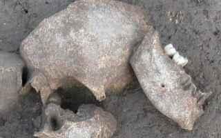 Storia: celti trofei teste mozzate scoperte