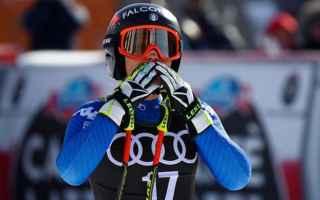 Sport Invernali: SCI ALPINO: GARMISCH-KITZBUHEL: SOFIA GOGGIA SUBITO PROTAGONISTA