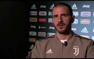 Serie A: video bonucci milan juventus calcio