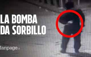 napoli video bomba pizzeria sorbillo