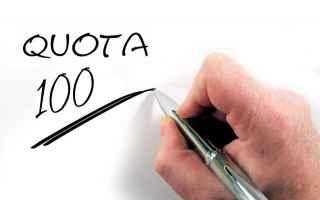 Economia: quota 100  salvini  pensioni  fornero