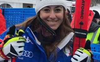 Sport Invernali: SCI ALPINO: KITZBUHEL-GARMISCH: SOFIA GOGGIA SFIORA L