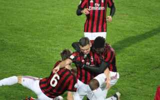 Serie minori: milan napoli video gol calcio