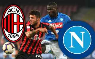 Serie A: milan  napoli