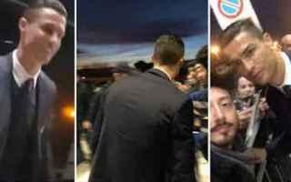 Roma: ronaldo video cr7 roma calcio