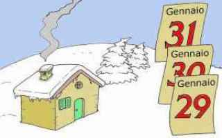 Cultura: freddo  gennaio  giorni della merla