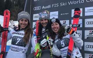 Sport Invernali: SCI ALPINO: KITZBUHEL-GARMISCH: SUPER G E DISCESA A FERSTL-VENIER PARIS-GOGGIA ANCORA SUL PODIO