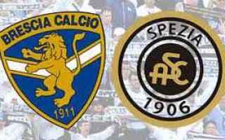 Serie B: brescia spezia video gol calcio