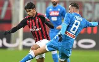 Coppa Italia: milan  napoli  coppa italia  serie a