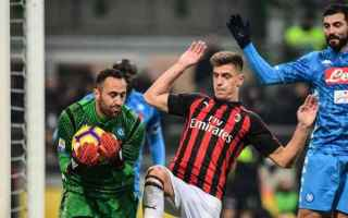 Coppa Italia: milan napoli streaming