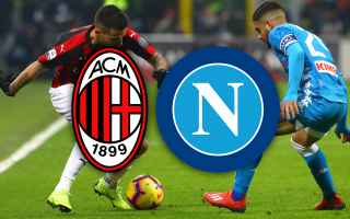 Coppa Italia: milan napoli video gol calcio