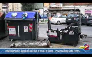 Roma: roma video emergenza rifiuti