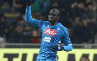 Serie A: koulibaly milan napoli video calcio