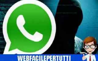 whatsapp messaggi bug