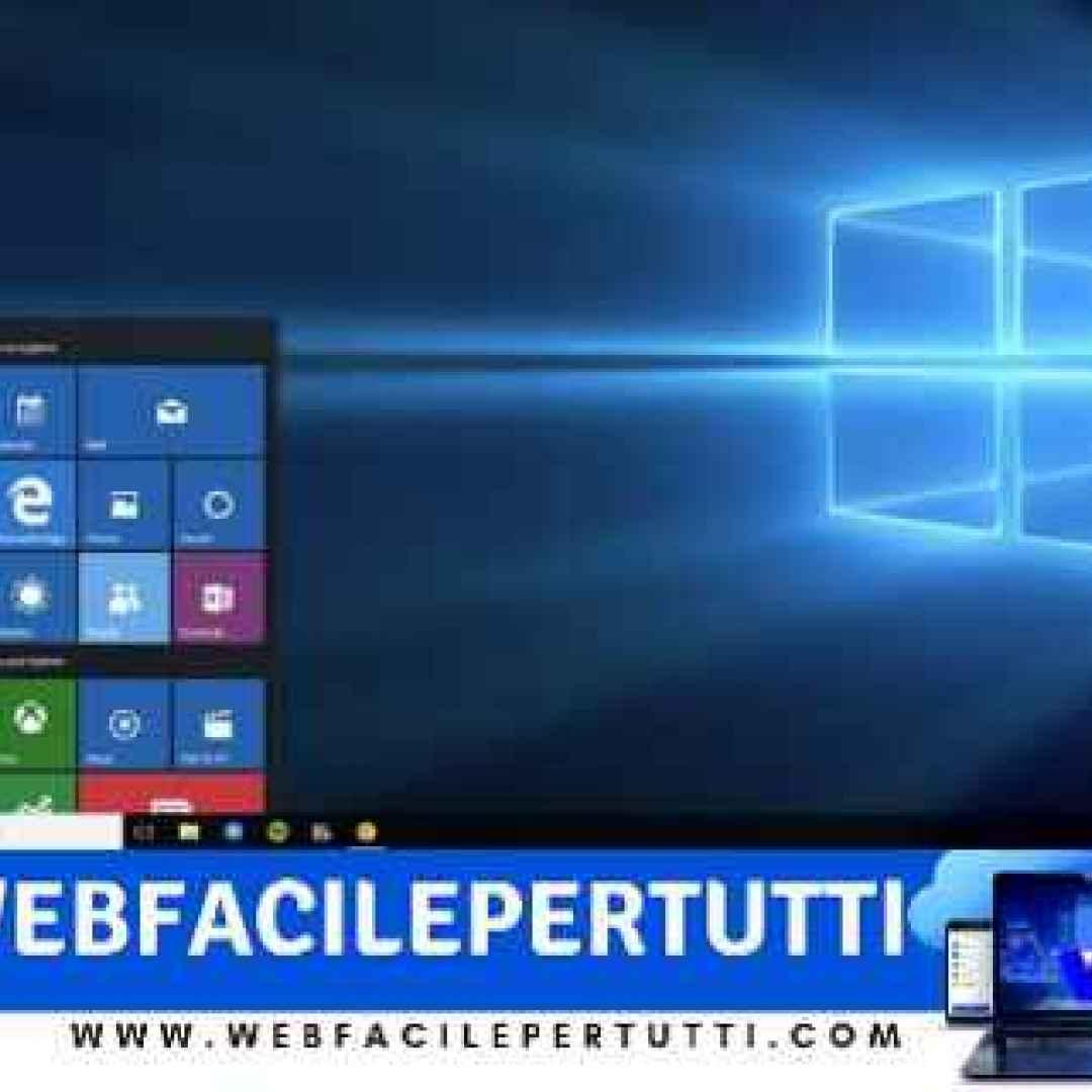 windows 10  modalità prestazioni