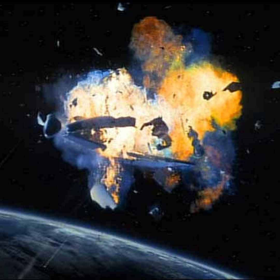 spazio  video  disastro  space shuttle