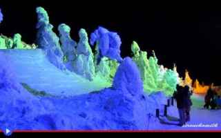Viaggi: giappone  montagna  neve  inverno  sci