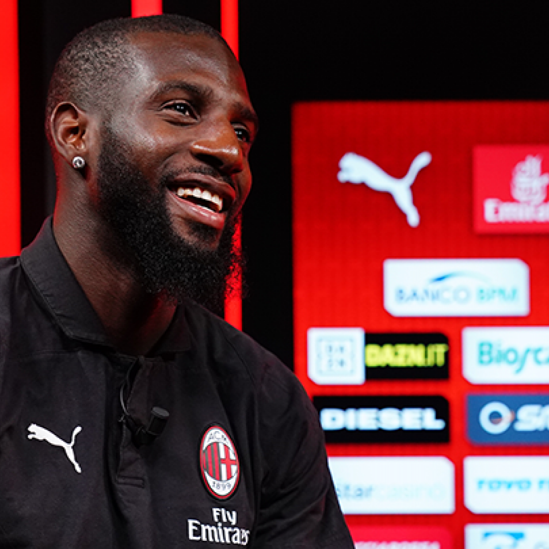 milan video intervista bakayoko calcio