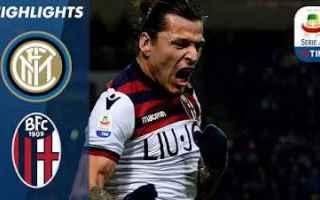 Serie A: inter bologna video gol calcio