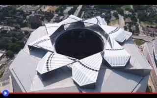 Sport: stadi  architettura  sport  atlanta
