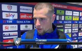 Serie A: atalanta bergamo video intervista calcio