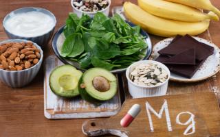 Alimentazione: magnesio  integratori