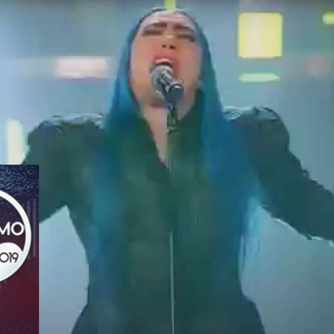 """Sanremo 2019 - Loredana Berté canta """"Cosa ti aspetti da me"""" - VIDEO"""