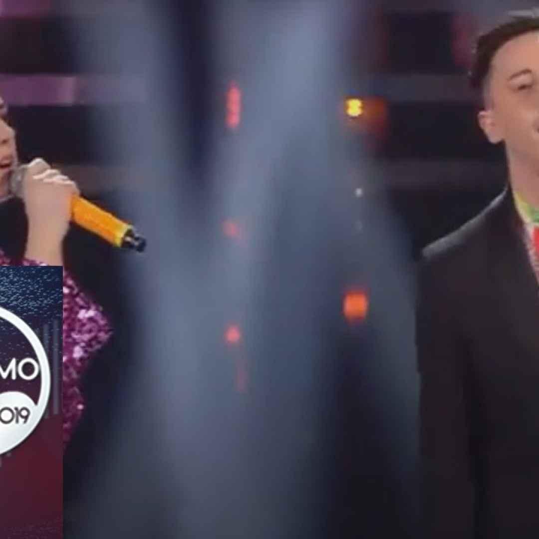 "Sanremo 2019 - Federica Carta e Shade cantano ""Senza farlo apposta"" - VIDEO"