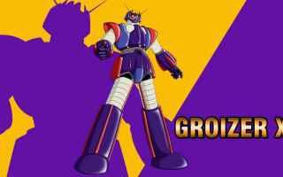 Anime: robot  groizer x  anime  sigla  cartoni