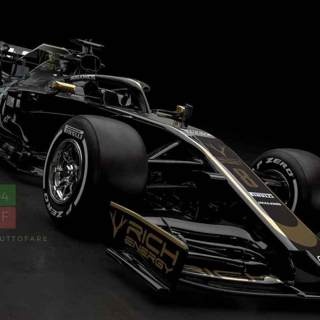 La Haas presenta la nuova livrea e le tute che utilizzeranno i piloti nel 2019