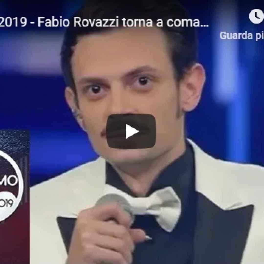 Sanremo 2019 - Fabio Rovazzi torna a comandare all