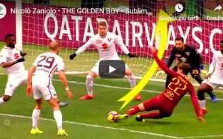 Calciomercato: juve juventus video zaniolo calcio