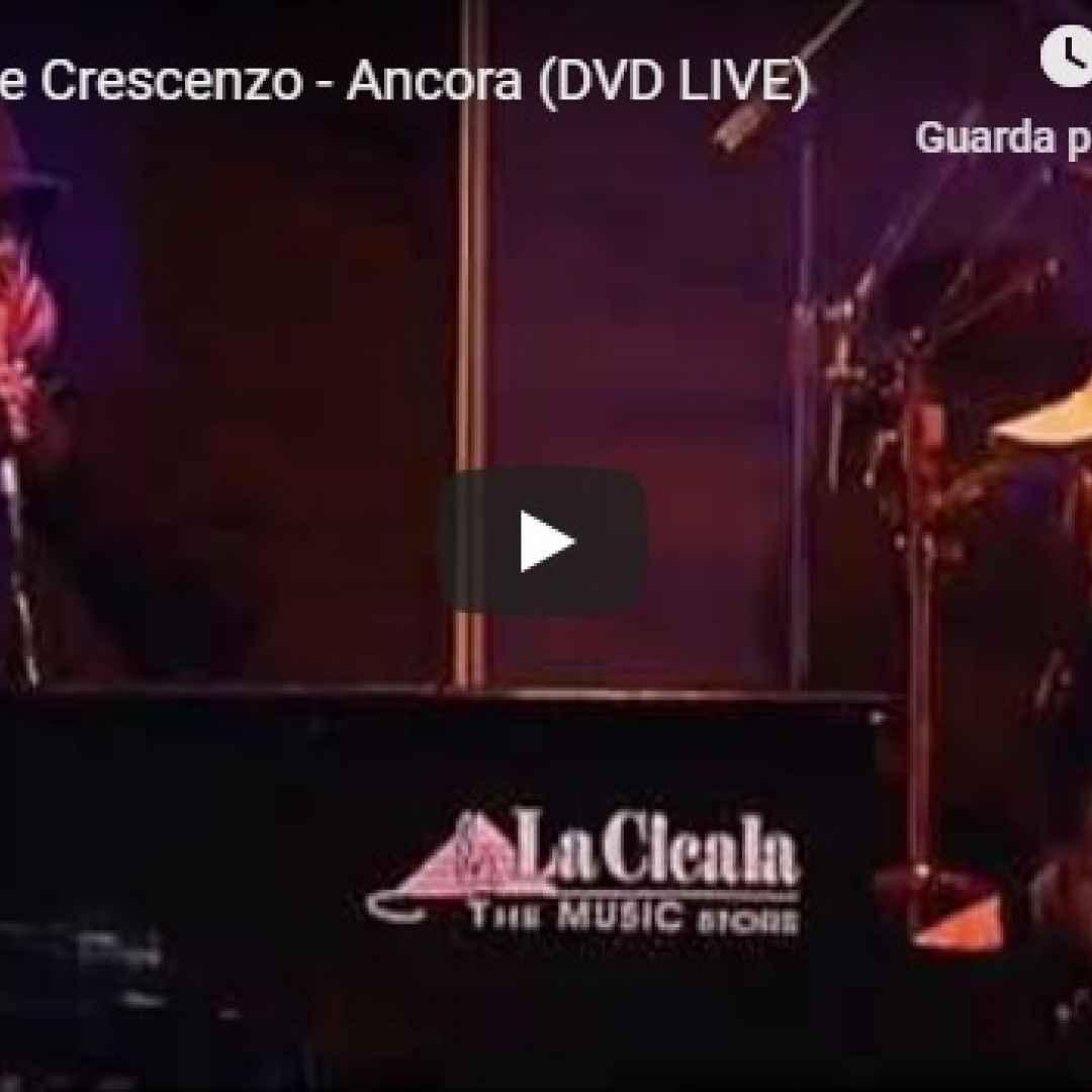 NASCEVA OGGI: Eduardo De Crescenzo - Ancora Live - VIDEO