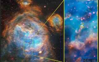 Astronomia: stelle  muse  vlt