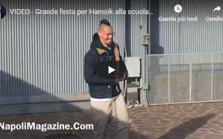 video festa hamsik calcio napoli