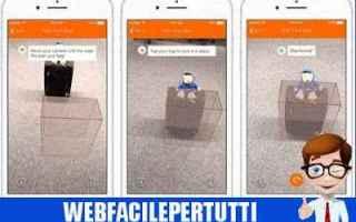 easyjet  app  realtà aumentata  bagaglio  valige