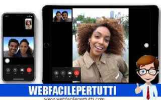iPhone - iPad: facetime  bug facetime  apple