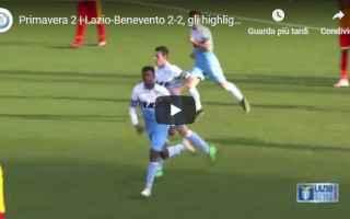 Serie minori: lazio benevento video gol calcio