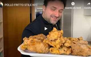 Ricette: video ricetta pollo fritto cucina
