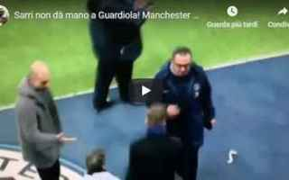 sarri guardiola video calcio inglese