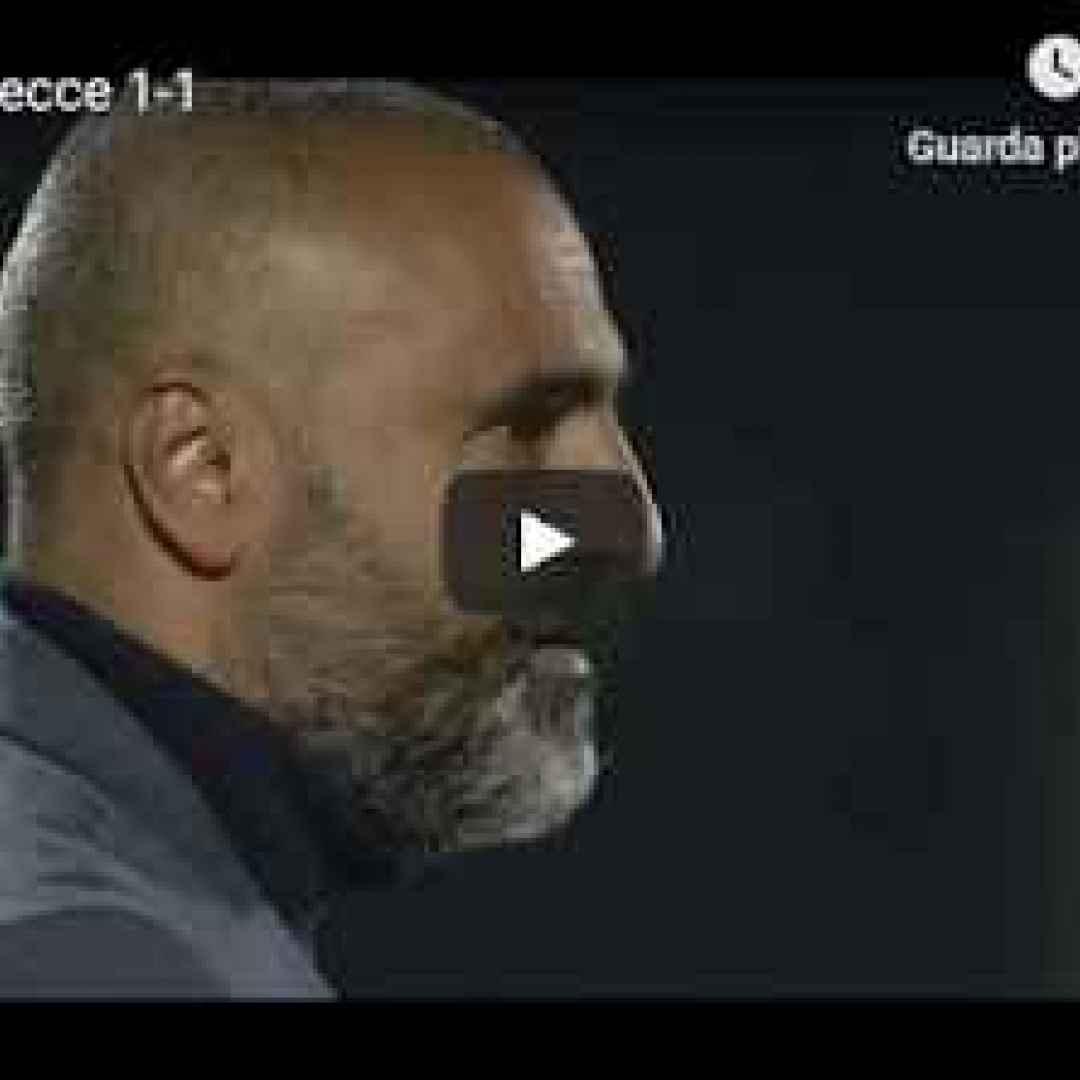 venezia lecce video gol calcio