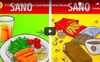 Alimentazione: video cibo salute mangiare