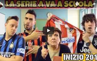 Serie A: serie a  scuola  video  calcio  gli autogol