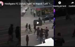 Europa League: zurigo napoli scontri calcio video