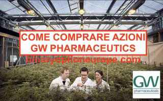 Borsa e Finanza: gw pharmaceuticals  cannabis. canapa